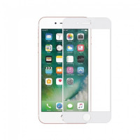 Защитое стекло 3D Glass Screen Protector for iPhone 7 Plus Matte (Белый)
