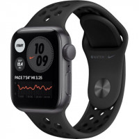 Apple Watch Nike SE GPS 40mm Space Gray Aluminum Case w. Anthracite/Black Nike Sport B. (MYYF2)
