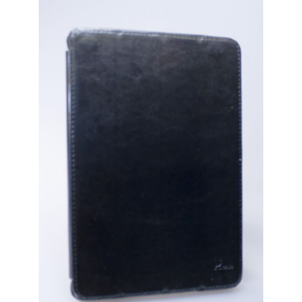 Чехол MacBook Pro 13 Leather Case (Черный) (Преcсованая кожа)