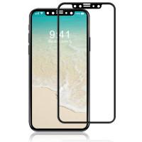 Защитные стекла для iPhone X Rock Origin Series (Black)