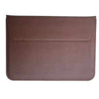 Чехол-конверт MacBook 15 PU seleeve bag (Brown)