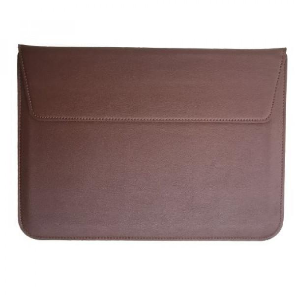 Чехол-конверт MacBook 15 PU seleeve bag (Brown)