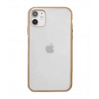 Чехол Накладка для iPhone 11 Shining Matte Case (gold)