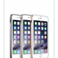 Бампер для iPhone 6 Plus G-Case GRAND SERIES (Серебристый) (Алюминий)