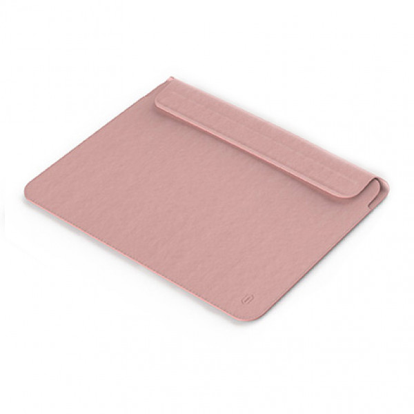Чехол-конверт MacBook Air 13.3 Wiwu Skin Pro leather (pink)