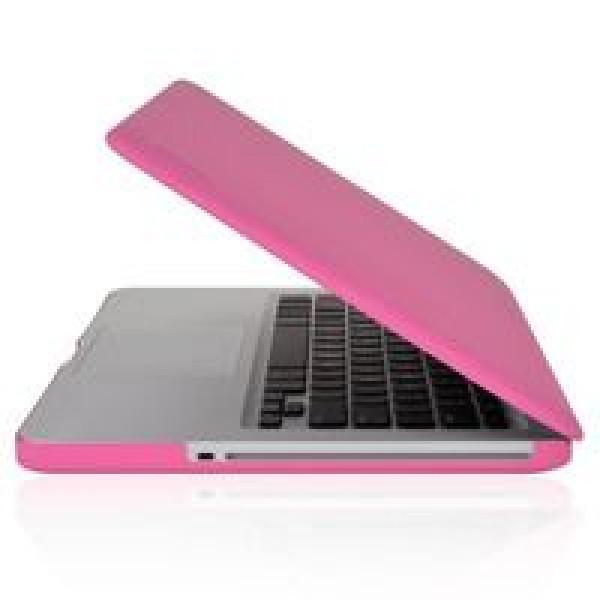 Чехол накладка MacBook Pro 13 Slim Case (Бледно розовый) (Матовый)