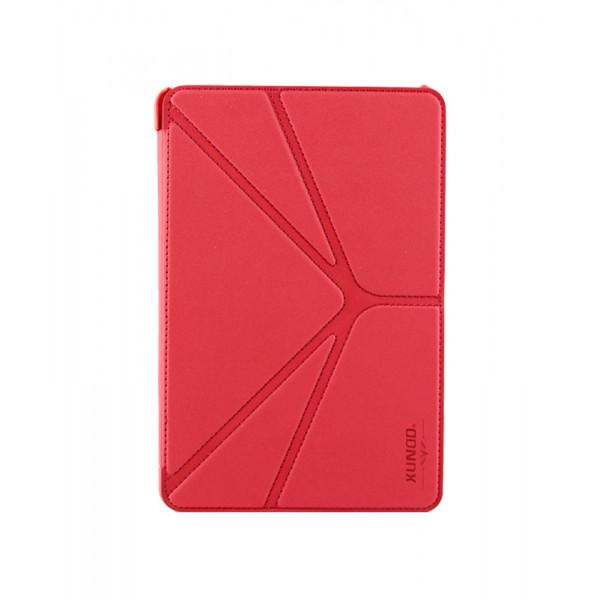 Чехол Книжка для IPad mini XUNDD Leather Case(Красный) (Преcсованая кожа)