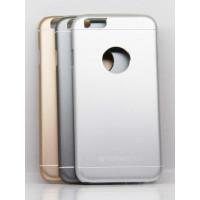 Чехол Накладка для iPhone 6 TOTU DESIGN JAEGER(Серебристый) (Алюминий)