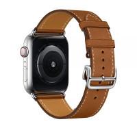 Ремешок для Apple watch 42 mm Single Tour Deployment Buckle (brown)