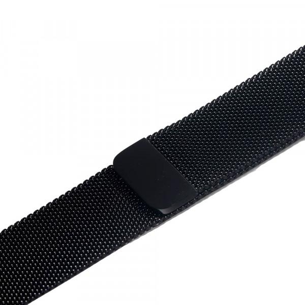 Ремешок-браслет для Apple Watch 38mm Milanese Loop Band (Black)