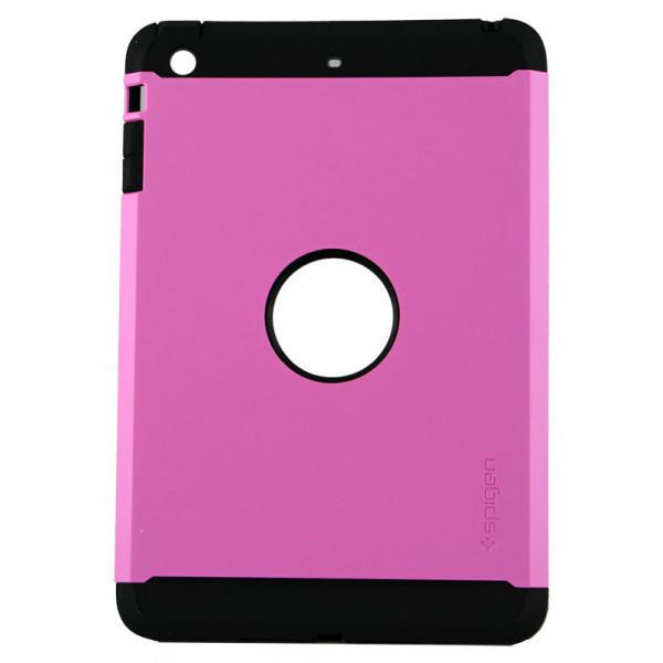 Чехол Накладка для iPad mini Spigen Tough Armor (Цветной) (Пластик)