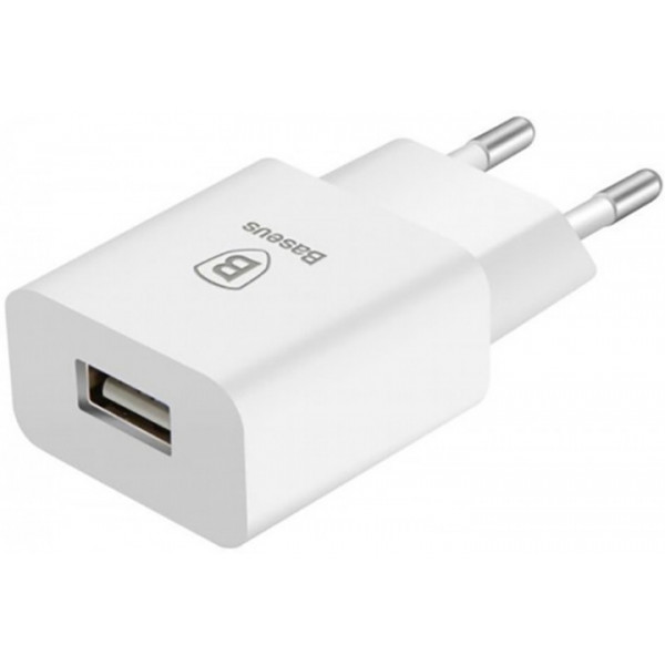 Сетевое зарядное устройство Baseus Letour Travel charger 1USB 1A (black)