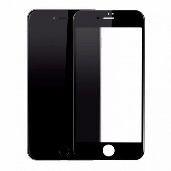 Защитое стекло Baseus  3D Arc for iPhone 7 black (A3D01)