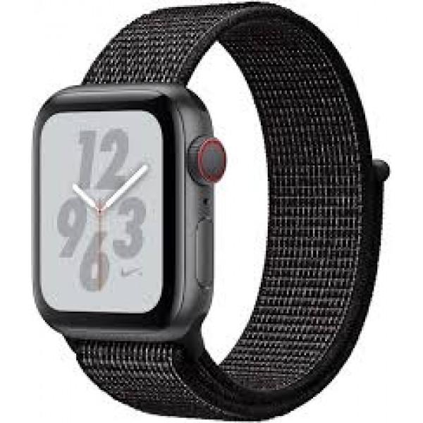 Apple Watch Series 4 Nike+ 40mm GPS + Cellular Space Gray Aluminum Case with Black Nike Sport Loop (MTX92)