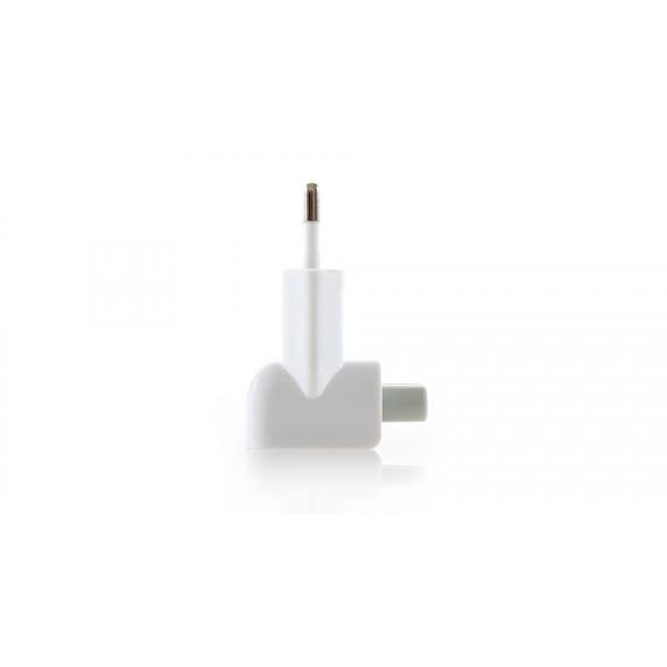 """Переходник Apple """"Евро"""" для блоков питания (original) Белый"""