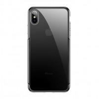 Чехол накладка iPhone Xs Max Baseus Shining Case (black)