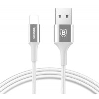 Кабель Baseus Shining Cable with Jet Metal Lightning 2A (1 m) (Silver)
