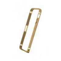 Бампер для iPhone 5/5S COTEetCL (Золотой ) (Алюминий)