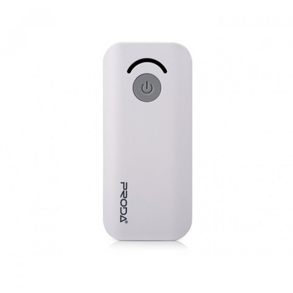 Портативное зарядное устройство Proda Power Box Jane (6000mAh) (Белый)
