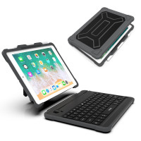 Чехол книжка для iPad (2017/18) WiWU Armor Keyboard (black)