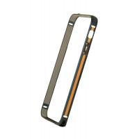 Бампер для iPhone 5/5S COTEetCL Claps P (Черный) (Алюминий)