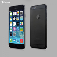 Чехол Накладка для iPhone 6/6s Motomo Steel (Темно серый)