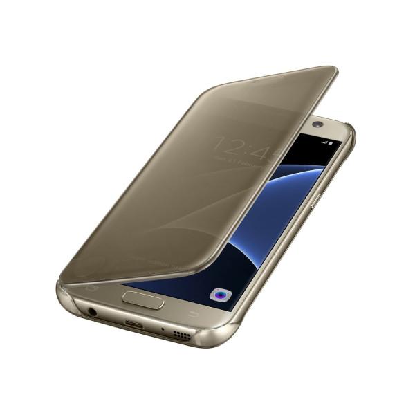 Чехол накладка Baseus  for Samsung S7 (Gold)