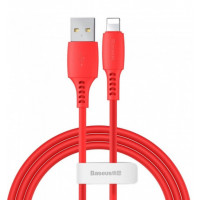 Кабель Baseus Colorful Cable USB for iP 2.4A (1.2 m) (Red)