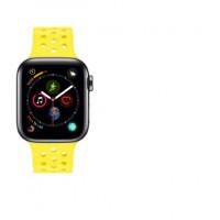 Ремешок-браслет для Apple Watch 42mm Sport Honeycomb (yellow)
