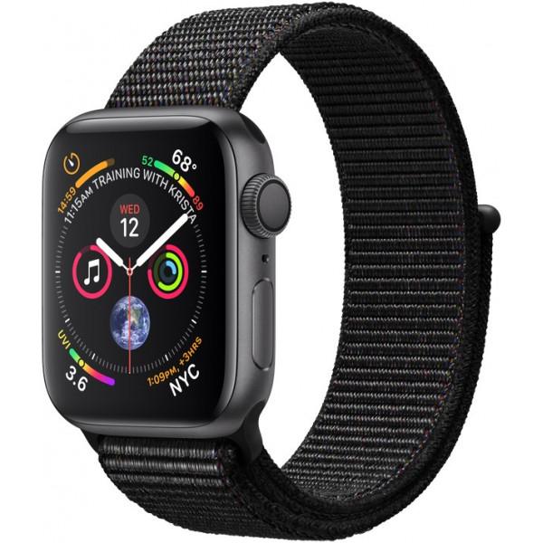 Apple Watch Series 4 GPS + LTE 40mm Gray Alum. w. Black Sport l. Gray Alum. (MTVF2)