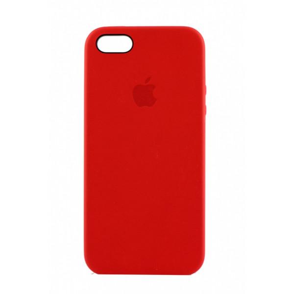 Чехол Накладка для iPhone 6/6s Leather Case High Copy (Красный) (Эко-кожа)