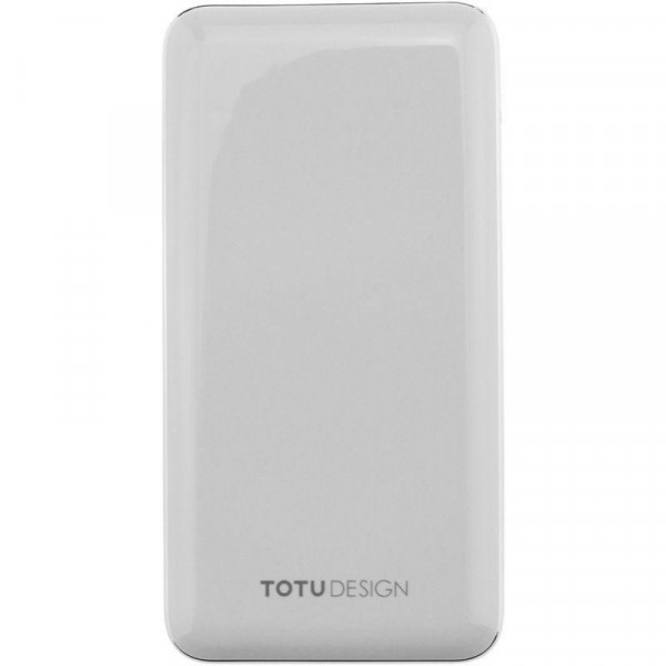 Портативное зарядное устройство Totu Power bank 10000mAh (White)