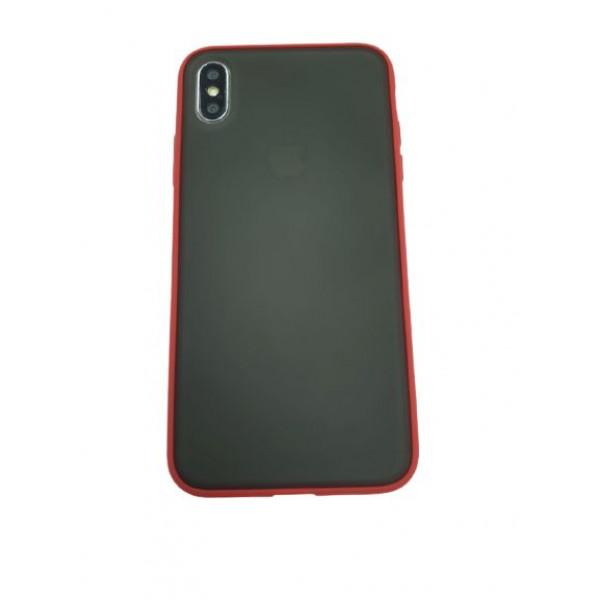 Чехол накладка iPhone Xs Max Gingle Series (red)