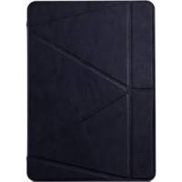 Чехол Книжка для iPad Air 2 I-MAX Smart Case (Черный) (Пресованая кожа)