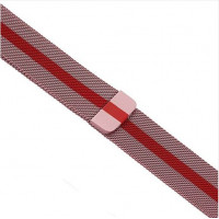 Ремешок-браслет для Apple Watch 42mm Milanese Loop 2 in 1 (Rose-Red)