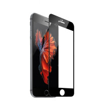 Защитные стекло iPhone 7/8 Mr. Yes 3D Tempered Glass 0.33mm + Back Screen (Black)
