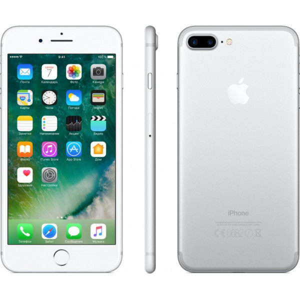 Apple iPhone 7 Plus 128GB (Silver) (MN4P2)