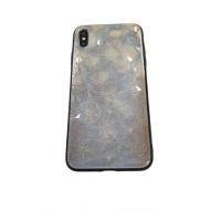 Чехол накладка iPhone Xs Max Rhombus (snowflake)