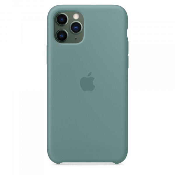 Чехол Накладка для iPhone 11 Pro Apple Silicon Case (Cactus) (Полиулетан)
