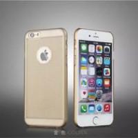 Чехол Накладка для iPhone 6 FSHANG COOL BREEZE Series(Прозрачный/Серый) (Пластик)