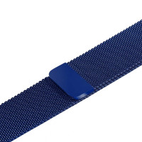 Ремешок-браслет для Apple Watch 38mm Milanese Loop Band (blue)
