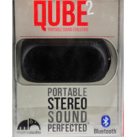 Акустика QUBE2 Portable Stereo Sound Perfected (Bluetooth) (черный)