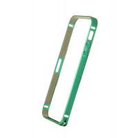Бампер для iPhone 5/5S COTEetCL (Берюзовый) (Алюминий)