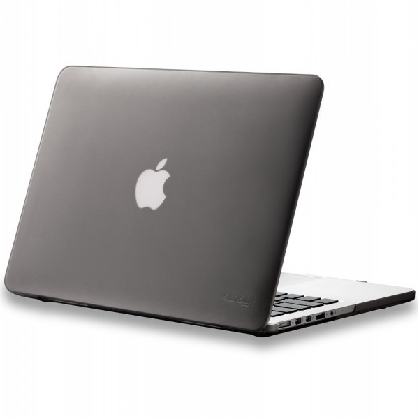 Чехол накладка MacBook Pro 13 mcCase Hard Case (Темно серый) (Пластик)