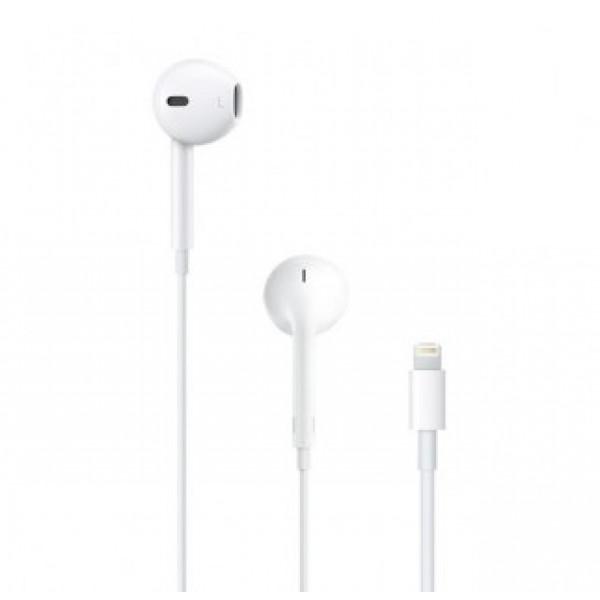 Наушники с микрофоном Apple EarPods with Lightning Connector (MMTN2ZM/A)