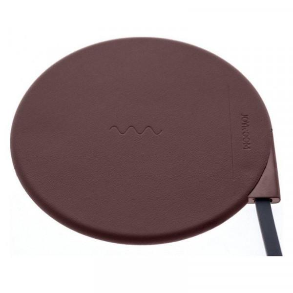 Безпроводное зарядное устройство JOYROOM JR--W100 Wireless Charger (brown)