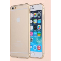 Бампер для iPhone 6 Plus G-Case GRAND SERIES (Золотой) (Алюминий)