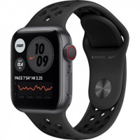 Apple Watch Nike Series 6 GPS + Cellular 40mm Space Gray Alu Case w. Anthracite/Black Sport B. (M06L3, M07E3)