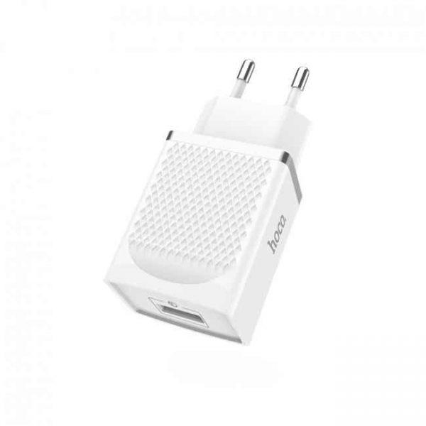 Сетевое зарядное устройство Hoco 1USB C42A QC 3.0 (white)