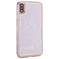Чехол накладка iPhone XS Max The Bling World LCPC Silver +TPU Case (silver)